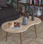 Masa de cafea London Homs 90 x 41 x 40 cm, Stejar